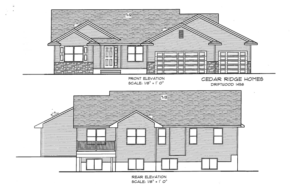 Cedar Ridge Home Floor Plans - Driftwood